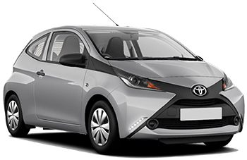 Car Hire LUTON  Toyota Aygo