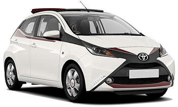 Car Hire AKTION  Toyota Aygo