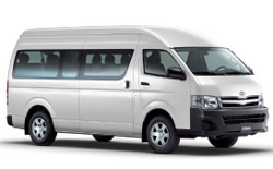 Car Hire QUEENSTOWN  Toyota Commuter