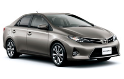 hyra bilar DAVAO  Toyota Corolla Altis