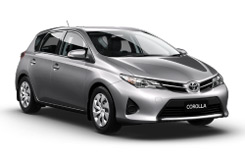 Car Hire HOBART  Toyota Corolla Ascent