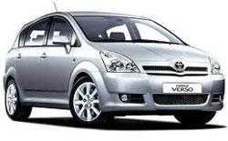 Autonoleggio TIRANA  Toyota Corolla Verso