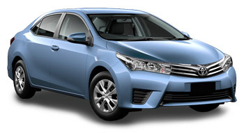 Car Hire BLUE ISLAND  Toyota Corolla