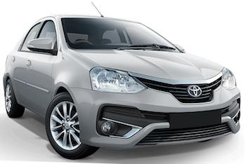 Mietwagen MTHATHA  Toyota Etios