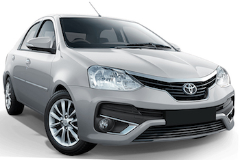 Alquiler SAO PAULO  Toyota Etios