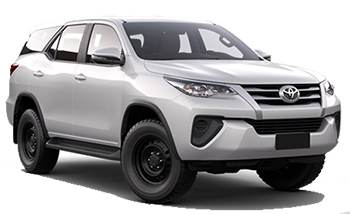 Car Hire ISA TOWN  Toyota Fortuner