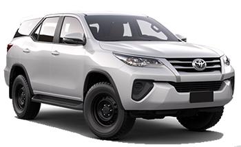 Toyota Fortuner 7 pax