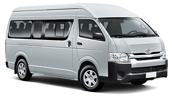 Location de voitures MURI BEACH  Toyota Hi Ace Minibus