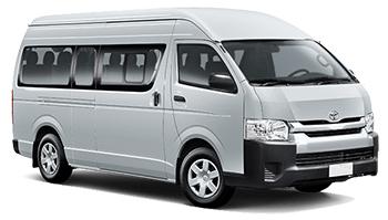 hyra bilar PANAMA CITY  Toyota Hi Ace Minibus