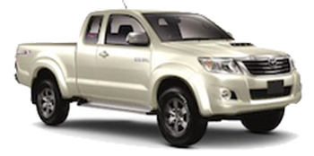 Toyota Hi-Lux pick-up truck