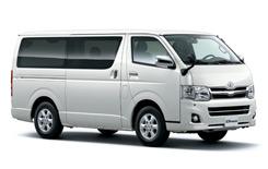 Car Hire SAN JOSE  Toyota Hiace