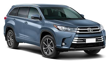 Car Hire QUEENSTOWN  ToyotaHighlander
