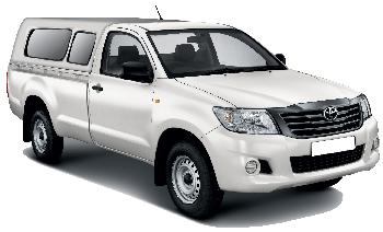 Toyota HiLux 4x4 Single Canopy