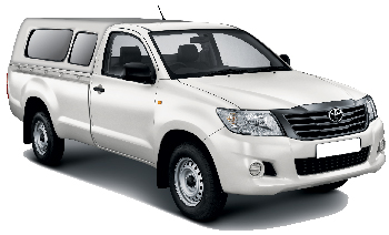 Toyota HiLux 4x4 Single Canopy