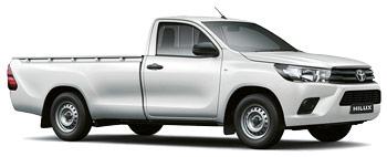 Autoverhuur WINDHOEK  ToyotaHiluxSingleCab