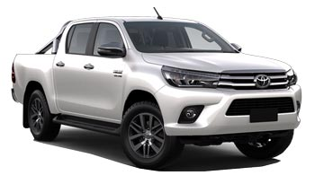 Car Hire CHRISTCHURCH  Toyota Hilux