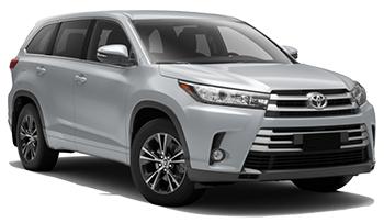 Toyota Kluger 5+2 pax