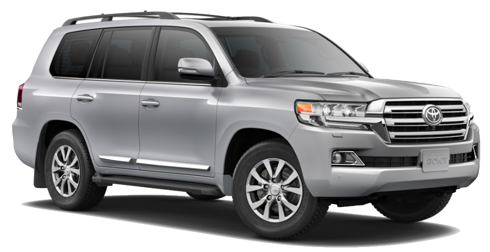 Car Hire PORI  Toyota Land Cruiser