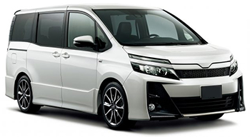 Location de voitures MURI BEACH  Toyota Noah