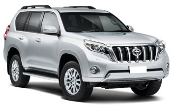 Car Hire QUEENSTOWN  Toyota Prado