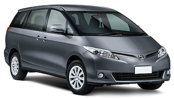 Car Hire QUEENSTOWN  Toyota Previa