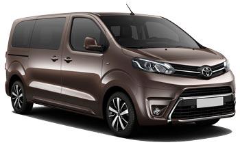 Toyota Proace 9 pax Diesel
