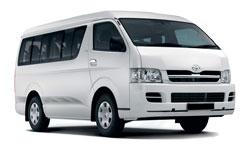 Car Hire WINDHOEK  Toyota Quantum