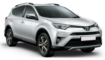 Car Hire LUTON  Toyota RAV 4