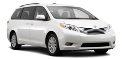 Autonoleggio SHADES OF GREEN  Toyota Sienna