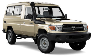 Autonoleggio HONIARA  Toyota Troop Carrier