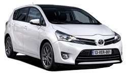 Car Hire BOURGAS  Toyota Verso Wagon