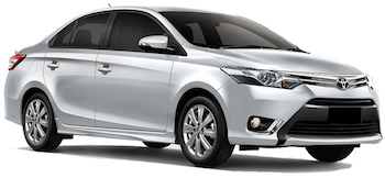 Car Hire DAVAO  Toyota Vios