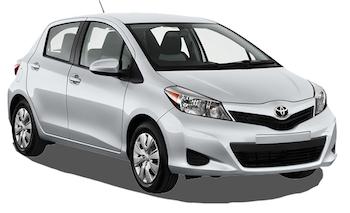 Car Hire PARAMARIBO  Toyota Vitz