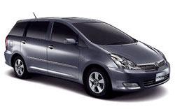 Toyota Wish 7 pax