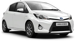 Car Hire QUEPOS  Toyota Yaris