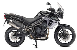Car Hire BRANSON  Triumph Tiger