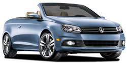 Car Hire CHATEAUBRIANT  VW Eos