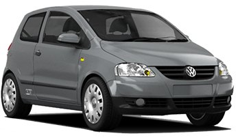 Car Hire SAO BERNARDO DO CAMP  VW Fox