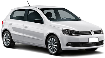 Car Hire BAURU  VW Gol