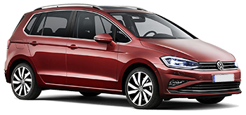 Alquiler LAUSANNE  VW Golf Sportsvan
