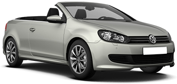 hyra bilar JERSEY  VW Golf convertible