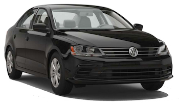 VW Jetta from Budget