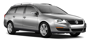 Car Hire LUTON  VW Passat Wagon
