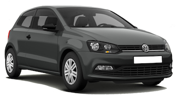 Car Hire AKTION  VW Polo Hatchback