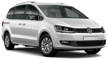 arenda avto GLASGOW  VW Sharan