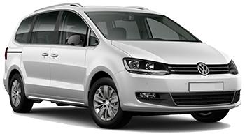 VW Sharan 7 pax
