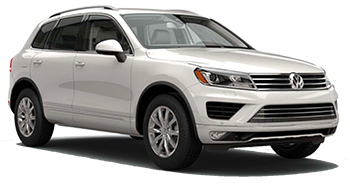 Car Hire ZURICH  VW Touareg