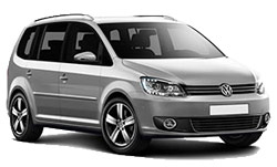 Car Hire VISP  VW Touran