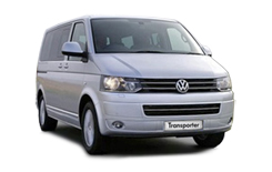 Car Hire VISP  VW Transporter