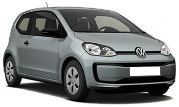 hyra bilar VISP  VW Up